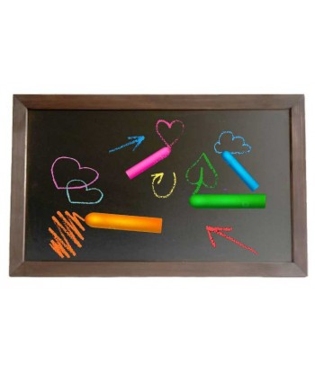Edukacyjna tablica kredowa 100 x 70 cm dla dziecka eco